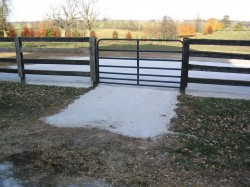 Mud control credit Univerity of Kentucky Department of Ag