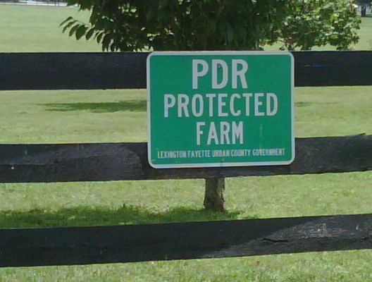 PDR sign credit Deb Balliet