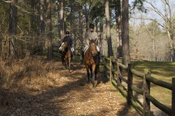 Riders on  W-M Foundation trail access (3)