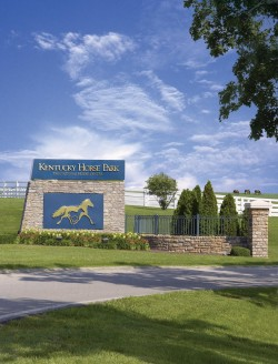Kentucky Horse Park entrance