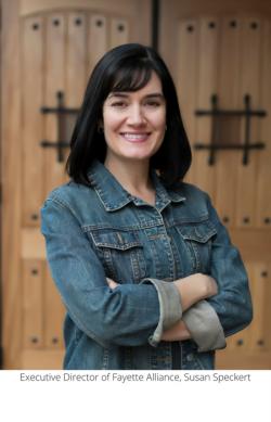 Executive Director of Fayette Alliance, Susan Speckert