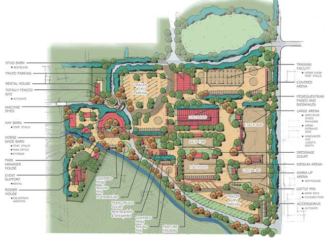 New Article: Working with Parks for Equine Access-Master Plan Illustrations – Part 2