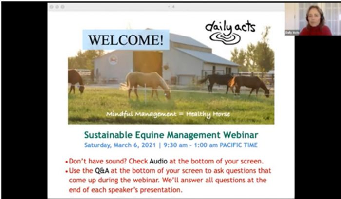 Sustainable Equine Management Resource Sheet
